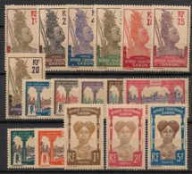 Gabon - 1910-18 - N°Yv. 49 à 65 - Série Complète - Neuf Luxe ** / MNH / Postfrisch - Gabon (1886-1936)