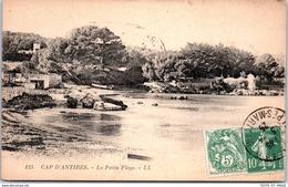 06 CAP D'ANTIBES - La Petite Plage - Autres Communes