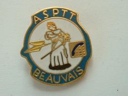 Pin's LA POSTE   - ASPTT BEAUVAIS - EMAIL - Mail Services