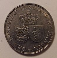 GROENLANDIA 1 CORONA 1960 - Groenlandia