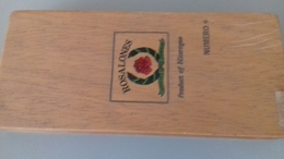 COFFRET A CIGARES ROSALONES N°9 - 24X10.5 CM - Altri
