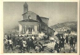 """4475 """"S. FERMO-1859(DAL DIPINTO DEL TREZZINI)-(MUSEO RISORGIMENTO)""""-CART. POST. ORIG. NON  SPED - Militari"""