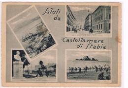 Castellammare Di Stabia Napoli  Saluti Dalle Terme 4 Vedutine  1947 - Napoli (Nepel)