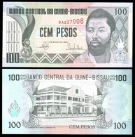 Guinea-Bissau - 100 Pesos 1990 P. 11 UNC Lemberg-Zp - Guinee-Bissau