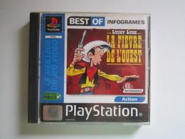 Sony PlayStation LUCKY LUKE LA FIÈVRE DE L'OUEST - Sony PlayStation