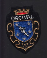ECUSSON TISSU BRODE - ORCIVAL - Patches
