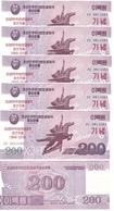 Korea North - 10 Pcs X 200 Won 2018 UNC Comm. Lemberg-Zp - Corea Del Norte