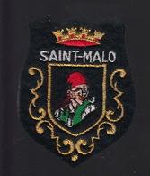 ECUSSON TISSU BRODE - SAINT MALO - Patches