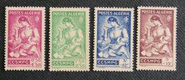 ALGERIE - 1944 - YT 205 à 208 ** - Algerien (1962-...)