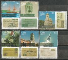Cuba 2014 Seven Marvelous Of Philately 6v + S/S MNH - Barcos