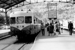 Capdenac. Autorail X 2833. Cliché Jacques Bazin. 04-09-1970 - Trains