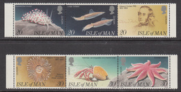 1994 Jersey Marine Life Crabs Complete Set Of 2 Strips Of 3 MNH @   BELOW FACE VALUE - Jersey