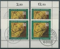 Bund 1981750. Todestag Der Hl. Elisabeth 1114 Alle 4 Ecken Gestempelt (E120) - Gebraucht