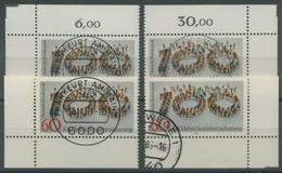 Bund 1981100 Jahre Sozialversicherung 1116 Alle 4 Ecken Gestempelt (E124) - Gebraucht