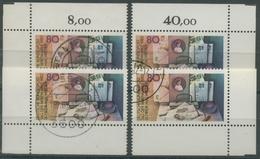 Bund 1982 Tag Der Briefmarke 1154 Alle 4 Ecken Gestempelt (E181) - Gebraucht