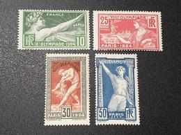 N° 183 à 186 Neuf ** Gomme D'Origine à 16% De La Cote   TTB - Unused Stamps