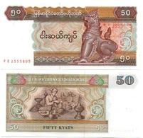Myanmar - 50 Kyats 1994 P. 73a UNC Lemberg-Zp - Myanmar