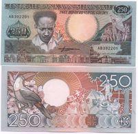 Suriname - 250 Gulden 1988 UNC Lemberg-Zp - Surinam