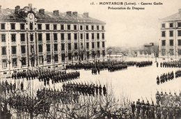 Montargis - Caserne Gudin - Présentation Du Drapeau - Montargis