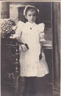 AK Foto Mädchen In Kommunionskleid - Kommunion - Ca. 1920  (42167) - Portraits