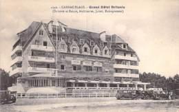 56 - CARNAC : GRAND HOTEL BRITANIA - CPA - Morbihan - Carnac