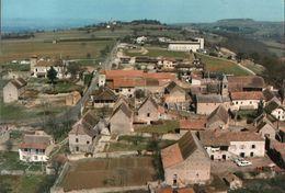 CARTE POSTALE DE TAIZE - VILLAGE AVEC EGLISE ROMANE - France