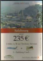 """Carte Postale """"Cart'Com"""" (2002) - """"Austrian Airlines"""" (Autriche) - Salzbourg - Aviation"""