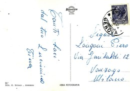Arenzano (Genova) - Panorama (viaggiata - 1955) - Genova
