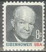1971 8 Cents Eisenhower Mint Never Hinged - Unused Stamps