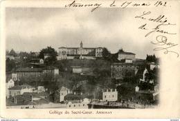 D07  ANNONAY  Collège Du Sacré- Coeur   ..... - Annonay