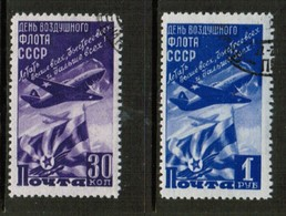 RUSSIA  Scott # 1159-60 VF USED  (Stamp Scan # 517) - 1923-1991 USSR