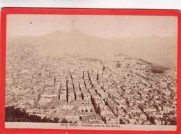 1870s GIACOMO BROGI: NAPOLI. PANORAMA PRESO DA SAN MARTINO - OLD ALBUMINA FOTO 16x11cm ORIGINAL- BLEUP - Foto