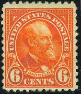 US #558  MINT Hinged  6c From 1922 Regular Issue  F/VF - Unused Stamps