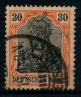 D-REICH GERMANIA Nr 89IIx Gestempelt X7191D6 - Deutschland