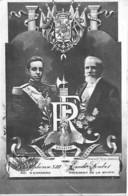 POLITIQUE Personnage - ALPHONSE XIII Roi D'Espagne Et Emile LOUBET Président De La Republique Française- CPA - Personnages