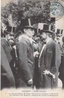 EVENEMENT - NOGENT - Jardin Colonial - Le Général GALLIENI, M. BINGER Dir. Au Ministère Des Colonies Et M. DELHORBE CPA - Evénements