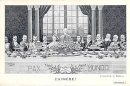 POLITIQUE Satirique - CHIMERE : Pax Mondo -CPA - - Satiriques