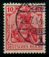 D-REICH GERMANIA Nr 86Ib Gestempelt Gepr. X726CFE - Deutschland