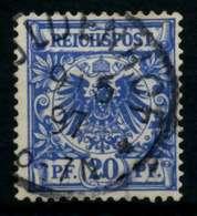 D-REICH KRONE ADLER Nr 48d Gestempelt X726F66 - Deutschland