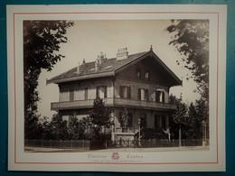 VICHY - CHALET DES ROSES  - Photographie Ancienne Albuminée De Claudius Couton - Photos