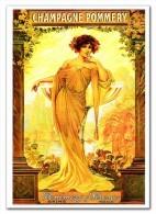 Pommery Vendange Advertising Postcard : Size 15x10 Cm. Aprox. - Publicidad