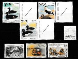 Aland 1987 - Year Complete MNH/**/Postfrisch - Aland
