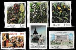 Aland 1989 - Year Complete MNH/**/Postfrisch - Aland
