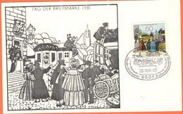 GERMANIA - GERMANY - Deutschland - ALLEMAGNE - 1981 - 60 Tag Der Briefmarke + Special Cancel Riegelsberg, L.V. Der Brief - [7] Repubblica Federale
