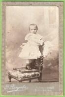 Pontevedra - REAL PHOTO De Cartón - Cartonada - Fotógrafo F. Lagalas - Chica - Children - Enfant - Vigo - Galicia España - Portraits