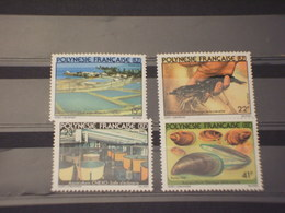 POLYNESIE - 1980 AGRICOLTURA 2 + 2  VALORI - NUOVI(++) - Polinesia Francese