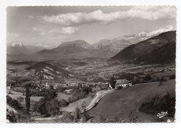 LALLEY--1960--Col De La Croix Haute--Vue Générale Sur Le Trièves......timbre  ..cachet  Hexagonal  LALLEY-38 - France