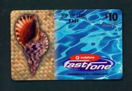 FIJI - Remote Phonecard As Scan - Fiji