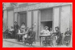 CPA A Identifier.  Restaurant ?, Animé ( Au Dos : L'ou Jo )...D545 - Postcards