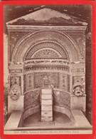 1870s GIACOMO BROGI: POMPEI. FONTANA IN MOSAICO NELLA CASA DELLA FONTANA - OLD ALBUMINA FOTO 16x11cm ORIGINAL- BLEUP - Foto